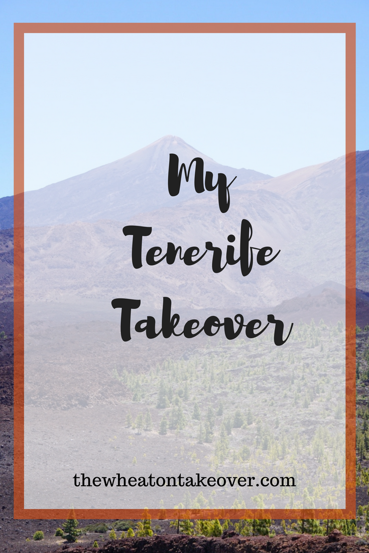 My Tenerife Takeover. I visited Tenerife (the largest island of the Spanish Canary Islands) with my family to celebrate the beginning of summer and two birthdays-mine and my dad's.