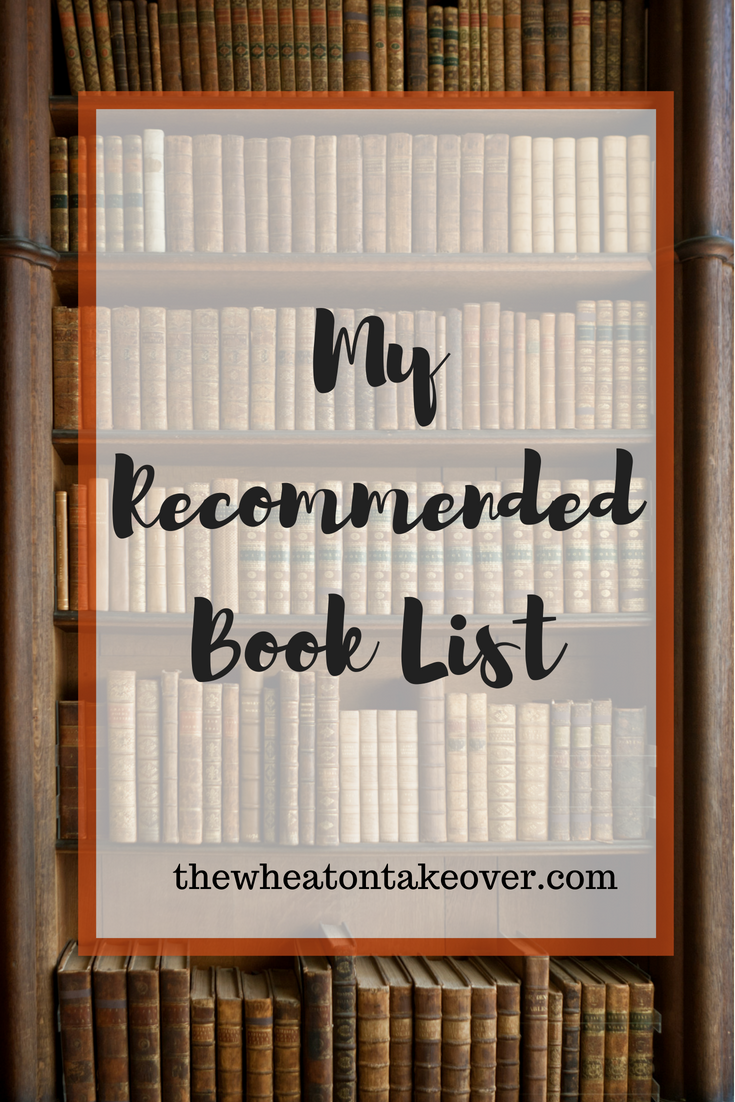My Recommended Book List