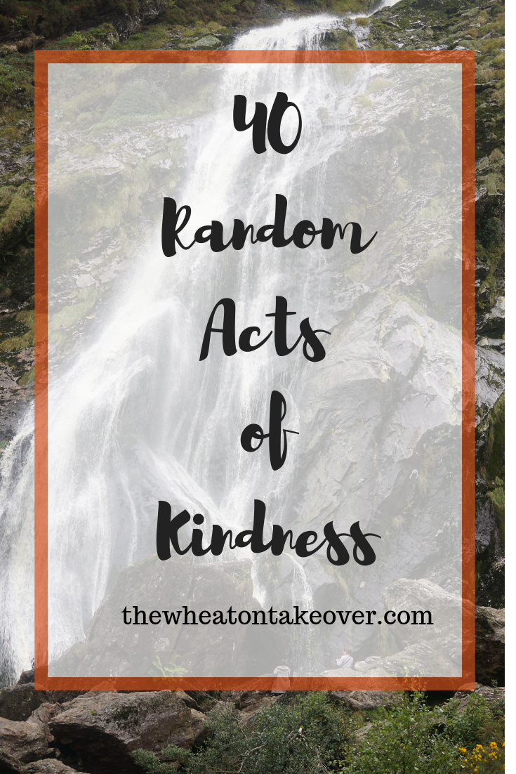 40 Random Acts of Kindness