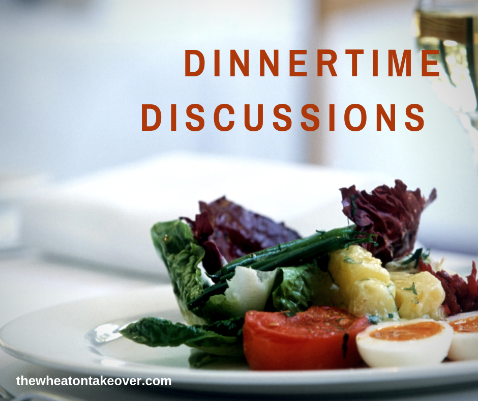 Dinnertime Discussions with The Wheaton Takeover